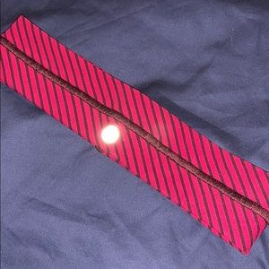 red stripe lululemon headband